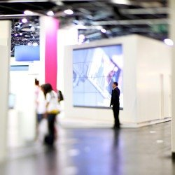 Messe und Events LED Wand Digital Signage